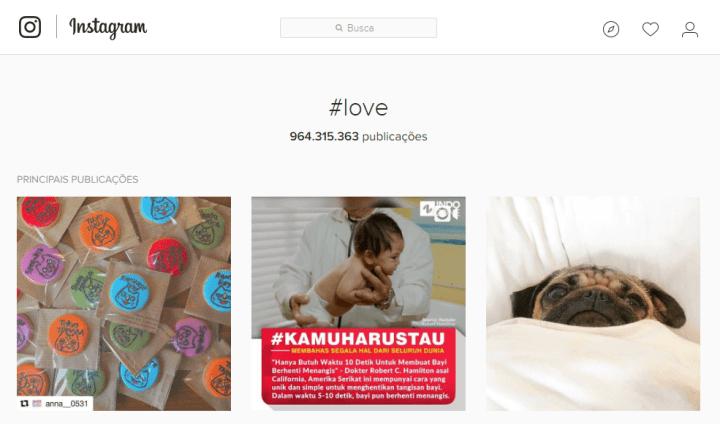 hashtag love instagram 2016 720x424 - Veja a Retrospectiva 2016 do Instagram