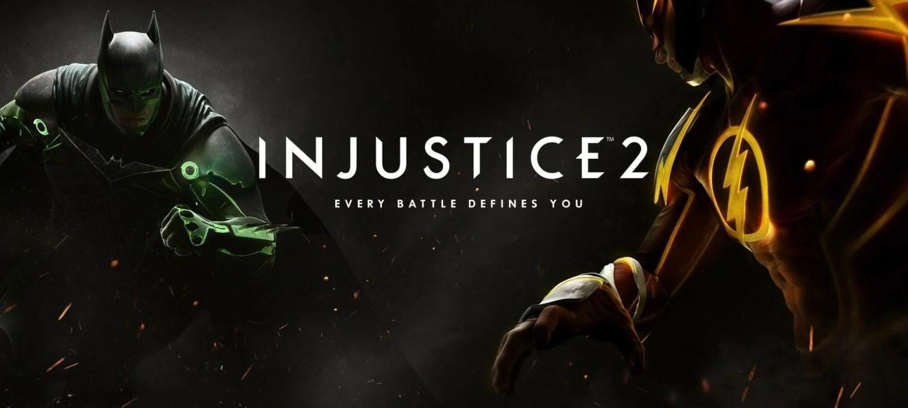 injustice 2 announcement - 25 games mais aguardados em 2017