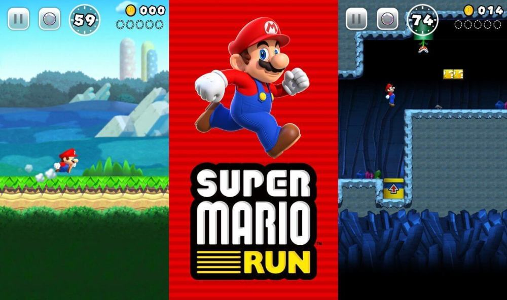 Super Mario Run - iOS e Android