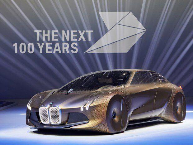 BMW BMW Vision Next 100 - BMW e Intel se unem para testar carros autônomos ainda este ano