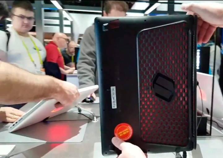 HexaFlow Vent 720x512 - Hands-on: Notebook gamer Samsung Odyssey [vídeo]