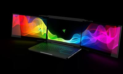 Project Valerie - notebook da razer com 3 telas
