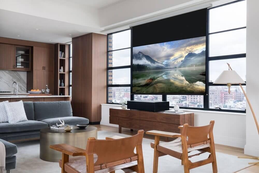 SONY Projector Living Angle - CES 2017: Sony lança primeira tela OLED e projetor 4K