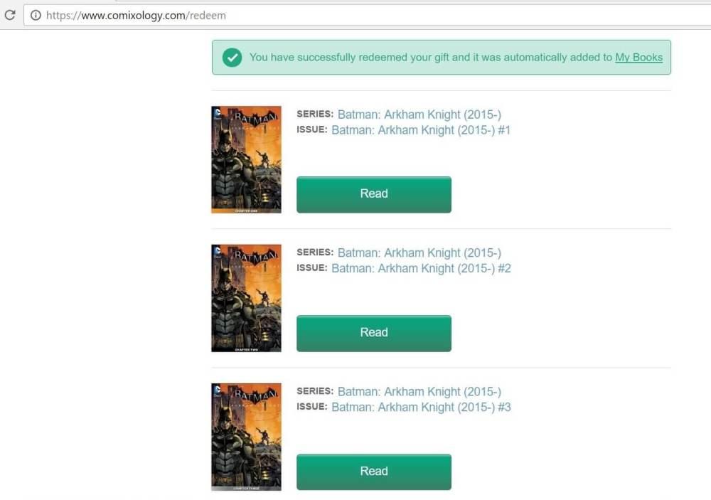 batman comixology - 133 HQs grátis em inglês