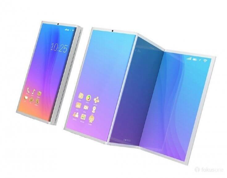 Novo conceito do Galaxy X conta com 3 telas dobráveis 8