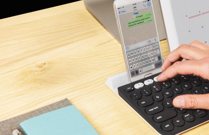 k780 multi device keyboard 720x465 - Logitech apresenta novos produtos para 2017