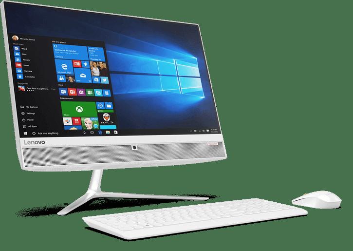 Lenovo anuncia novo all-in-one no Brasil com tela Full HD sem bordas 4