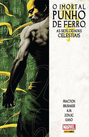 punho de ferro - HQs: Checklist Marvel/Panini - Janeiro 2017