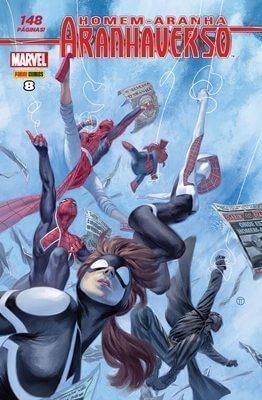 redhomem aranha aranhaverso - HQs: Checklist Marvel/Panini - Janeiro 2017