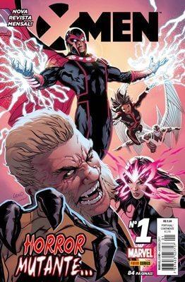 redx men 1 horror mutante - HQs: Checklist Marvel/Panini - Janeiro 2017