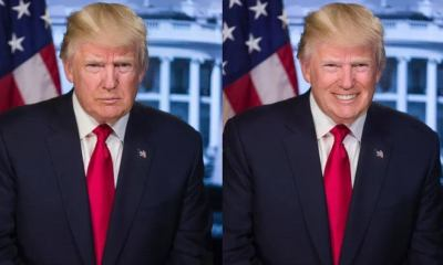 trump faceapp