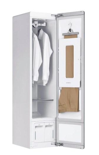 5. LG Styler Pants Crease Care - LG Styler quer, e consegue, ser um guarda-roupas inteligente