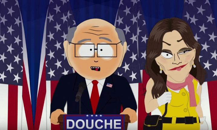 """Trey Parker e Matt Stone, criadores de South Park, consideram Donald Trump """"difícil de satirizar"""" 7"""
