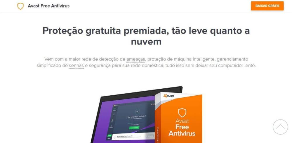 Avast Free - Os melhores antivírus gratuitos de 2017