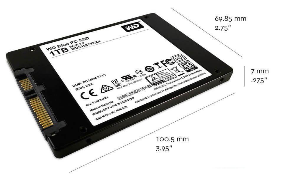 SSD WD Blue - REVIEW: SSD WD BLUE da Western Digital