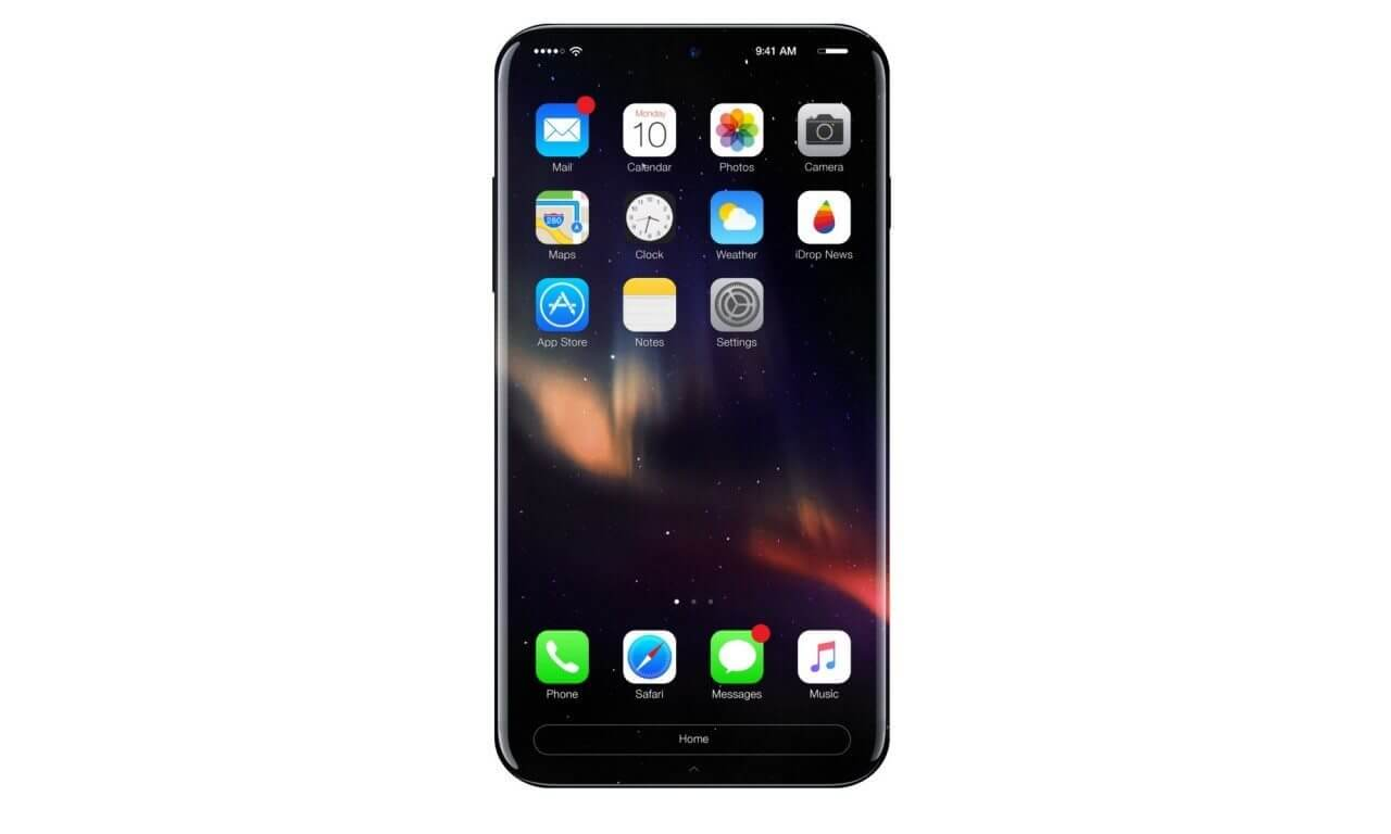 iphone 8 concept 1 1280x768 - [Rumor] iPhone 8: Carregamento sem fios será vendido separadamente e nada de adaptador P2