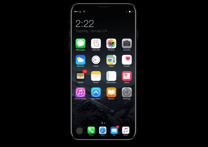 iphone 8 concept 6 1 720x511 - Rumor: iPhone 8 pode custar mais de mil dólares
