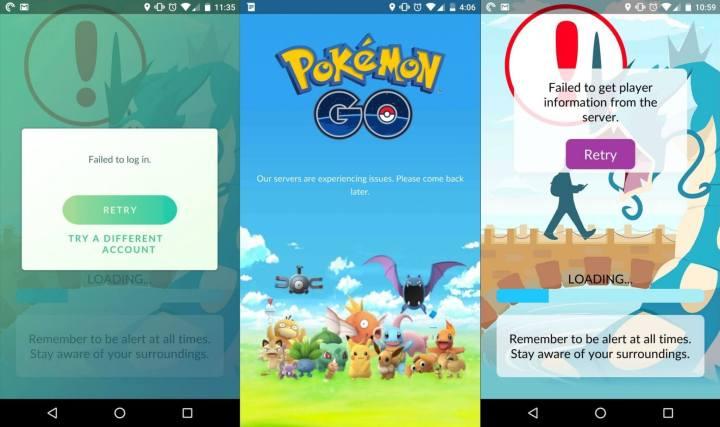 Você não é o único com problemas para entrar no Pokémon Go