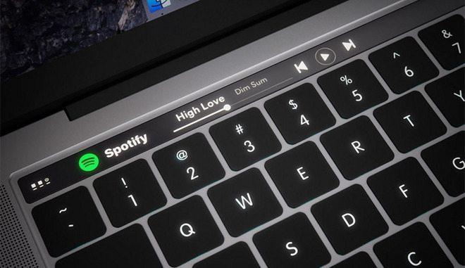 touchbar - Apple pode estar desenvolvendo seus próprios chips para os próximos Macs