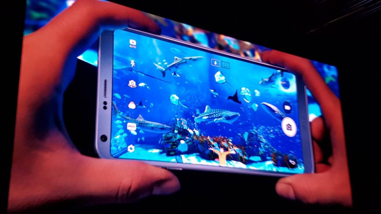 LG G6 é lançado na Mobile World Congress 15