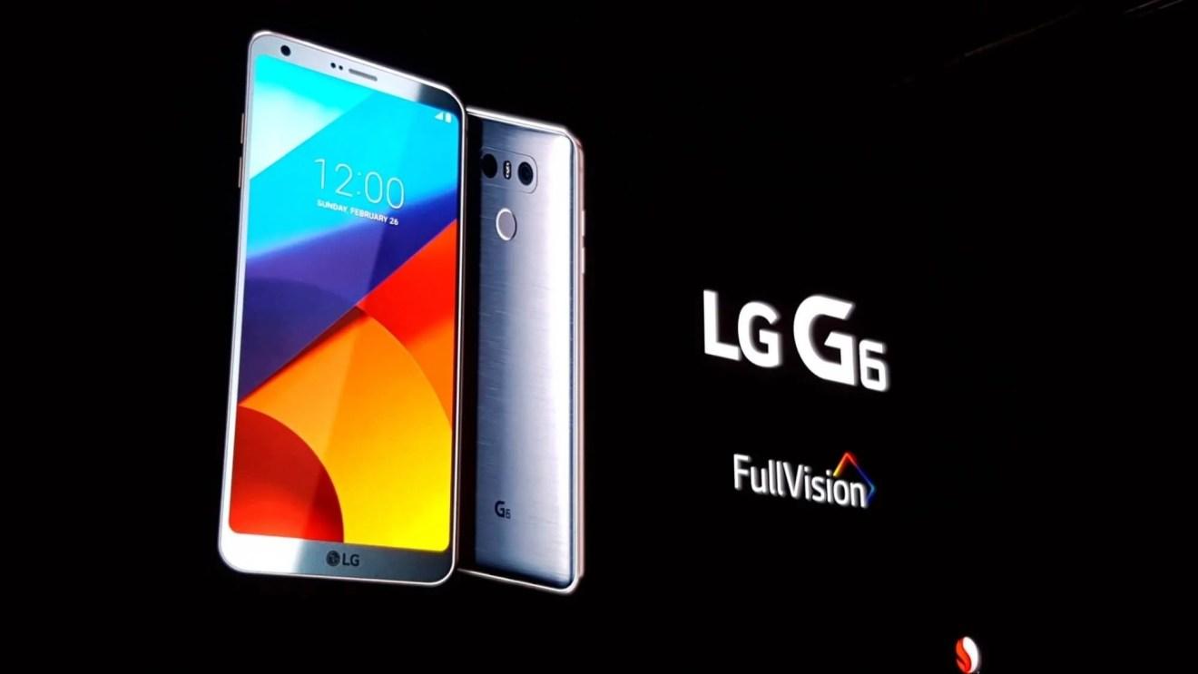 LG G6 é lançado na Mobile World Congress 10