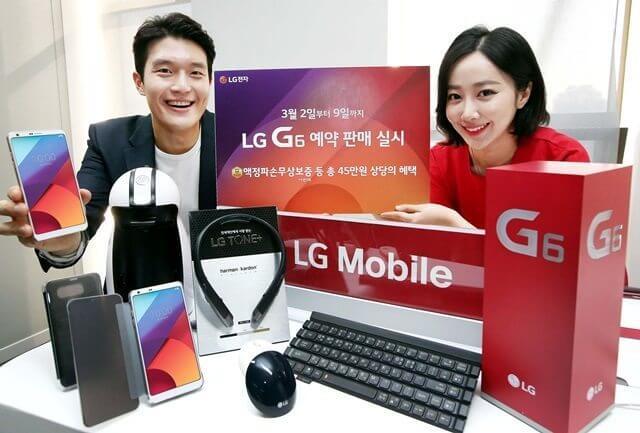 Já é sucesso? 40 mil unidades do LG G6 já foram reservadas na pré-venda