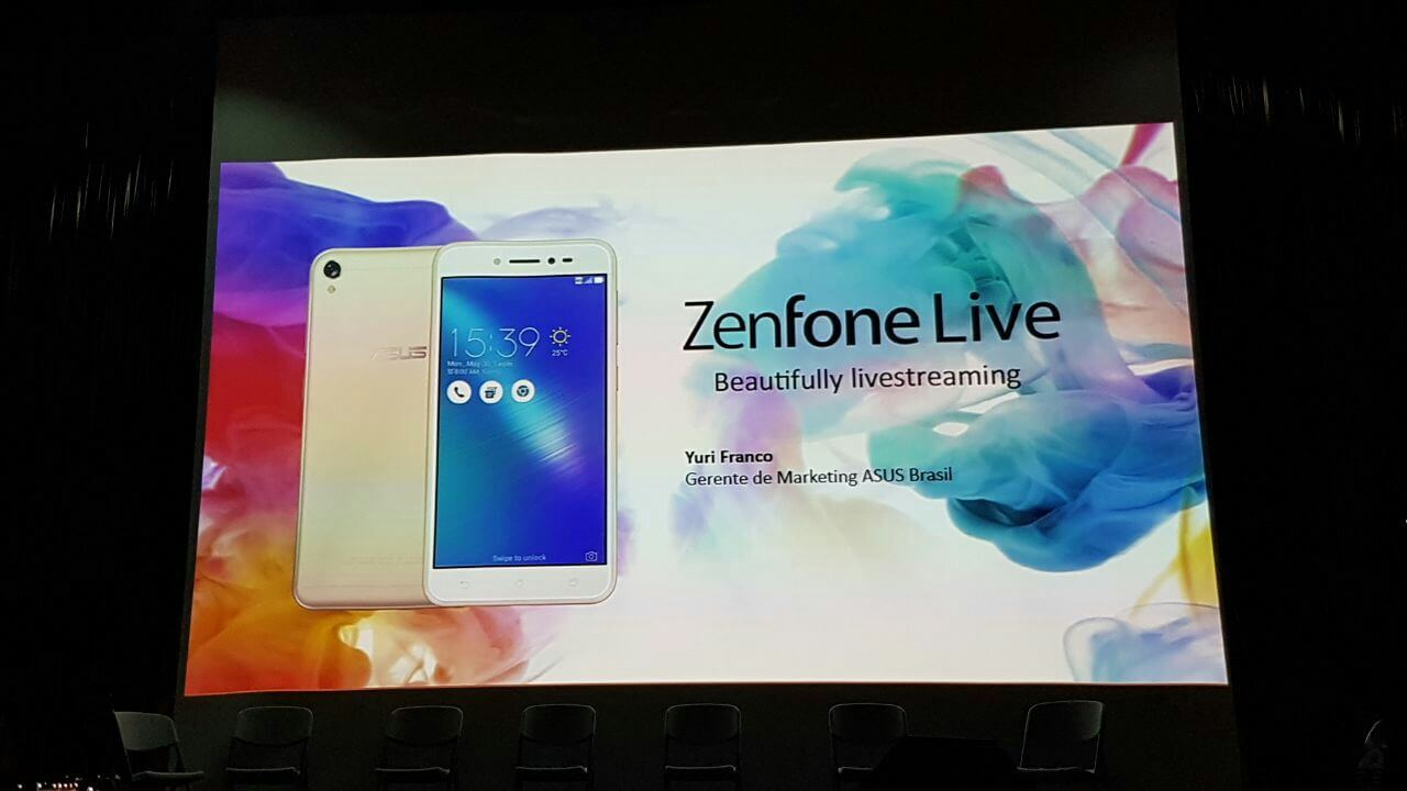 Zenfone Live - ASUS lança ZenFone Live: smartphone que embeleza vídeos em tempo real