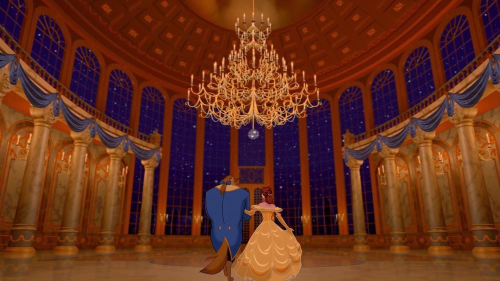 """bela fera salao baile - """"A Bela e a Fera"""": Conheça os desafios da cena da dança no filme original"""