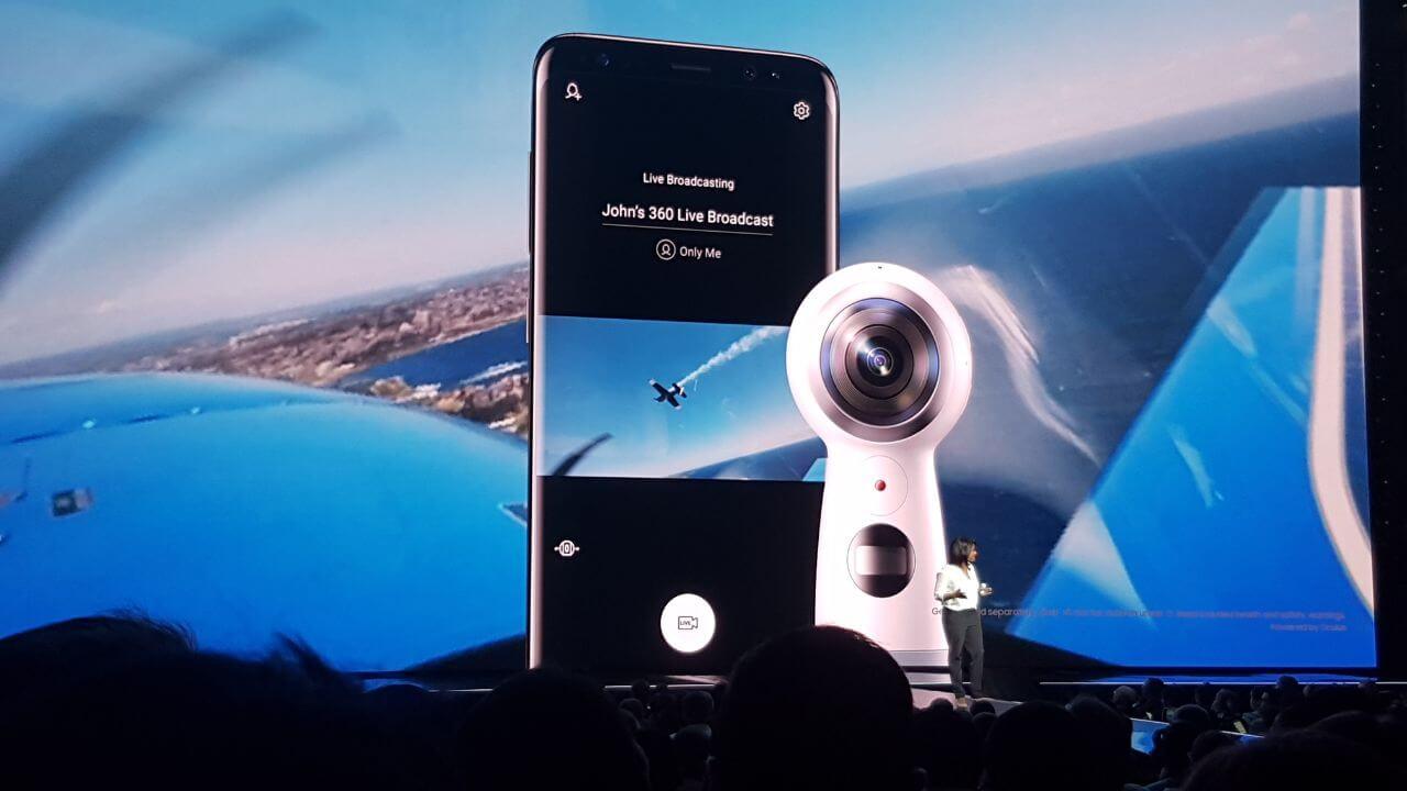 gear 2 - Samsung anuncia nova Gear 360 em evento do Galaxy S8