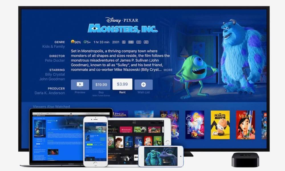 Apple simplifica a sua vida ao alugar um filme na iTunes Store