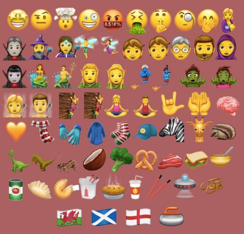 new emoji - 69 novos emojis vão chegar ao Android e iOS em breve