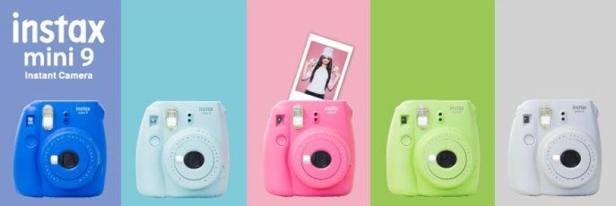 pic 01 - Fujifilm lança novas câmeras Instax Mini 9 em cores festivas