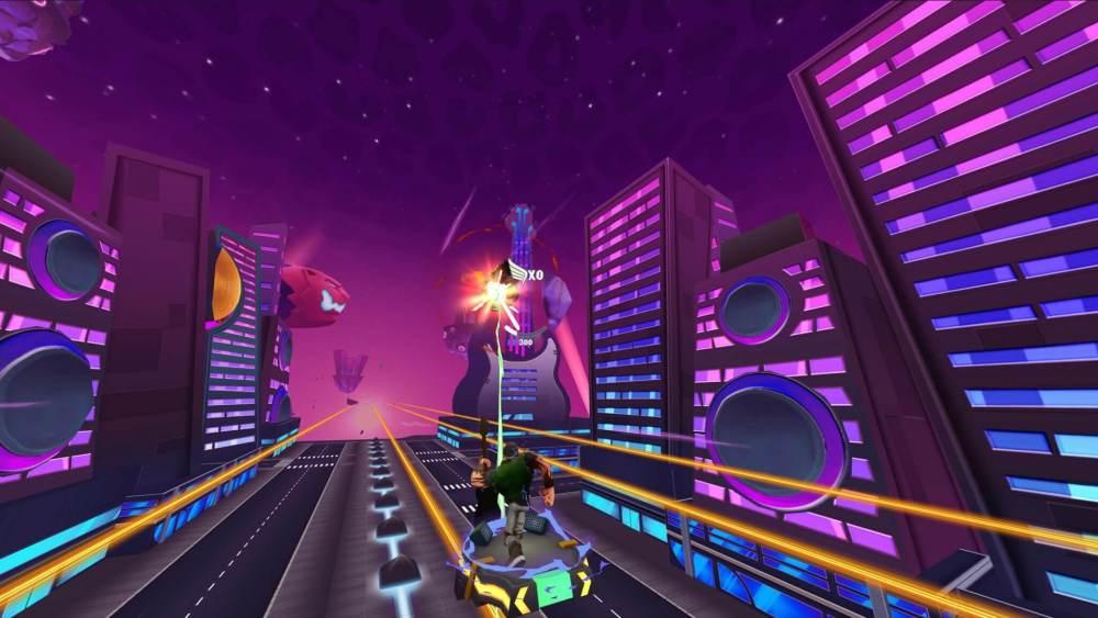 """""""Rock & Rails"""" é um novo jogo para o Samsung Gear VR"""