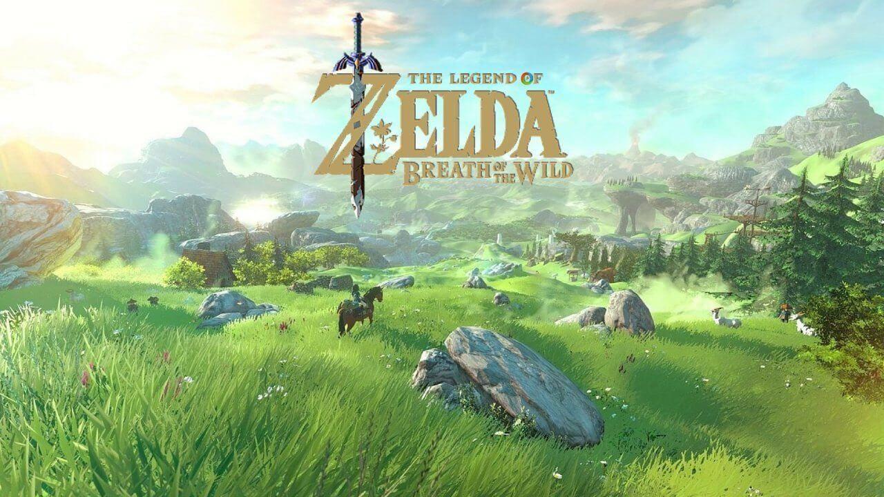 """zelda breath of the wild cenario - Sem mais espera! """"The Legend of Zelda: Breath of the Wild"""" chega para Nintendo Switch"""