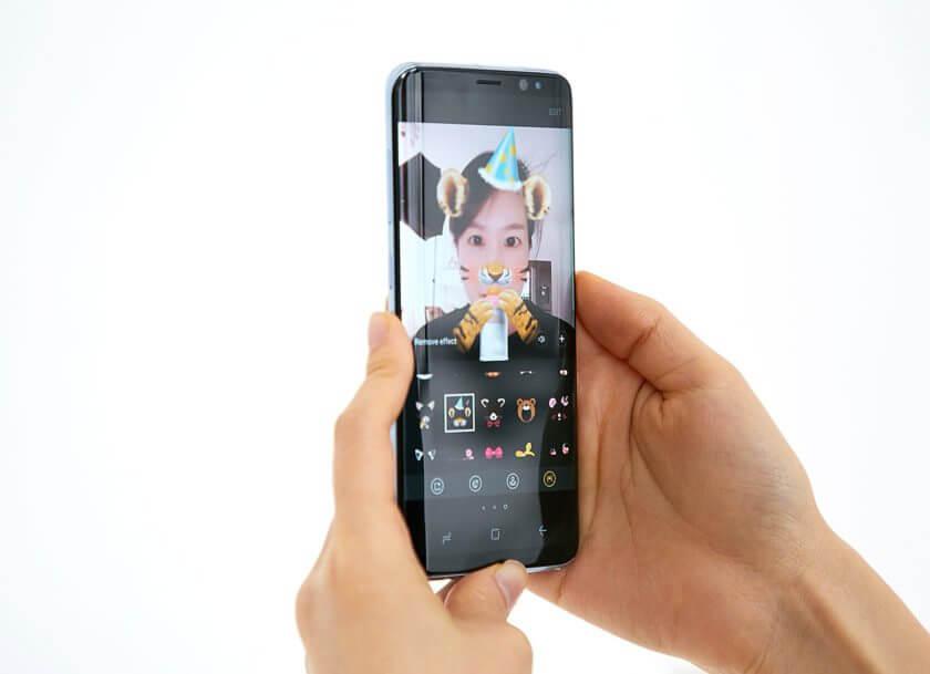 Galaxy S8 camera hands on 2 840x609 - REVIEW: Galaxy S8 e S8+ representam elegância e sofisticação