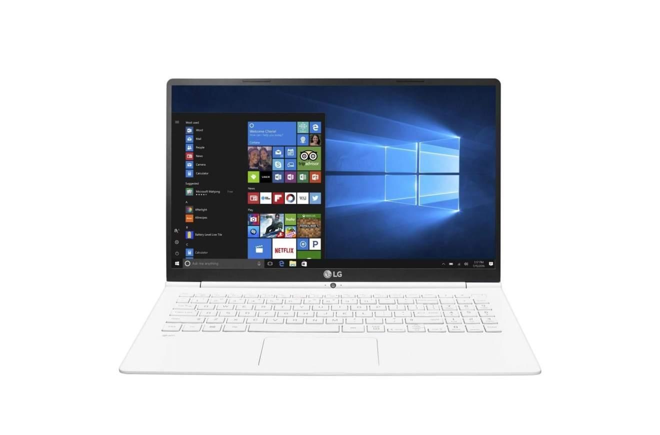 LG GRAM Branco 256GB - LG apresenta nova linha de notebooks premium LG Gram