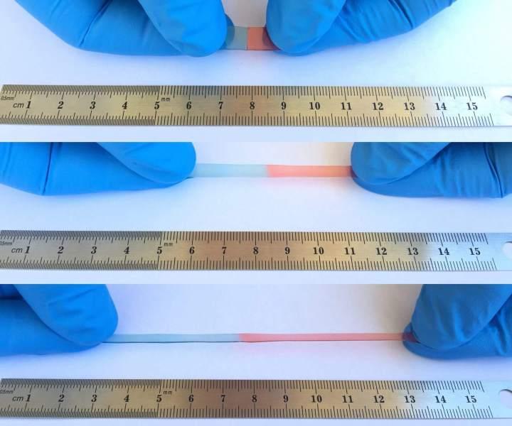 Polímero para telas de smartphones