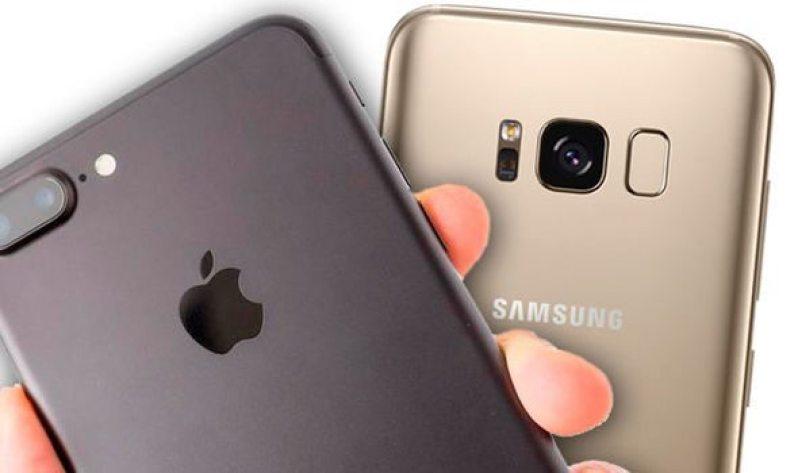 iPhone v Galaxy S8 787182 - Qual é o mais rápido? iPhone 7 Plus ou Samsung Galaxy S8?