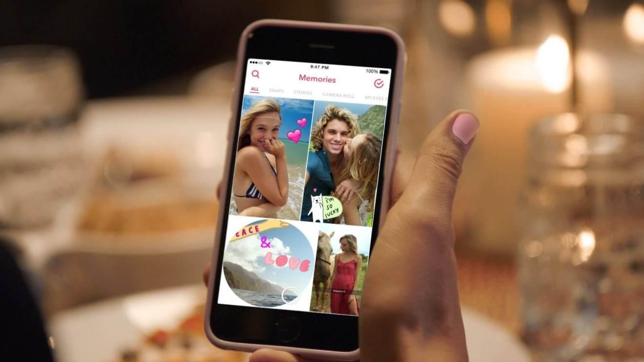 Snapchat traz atualização para o My Story
