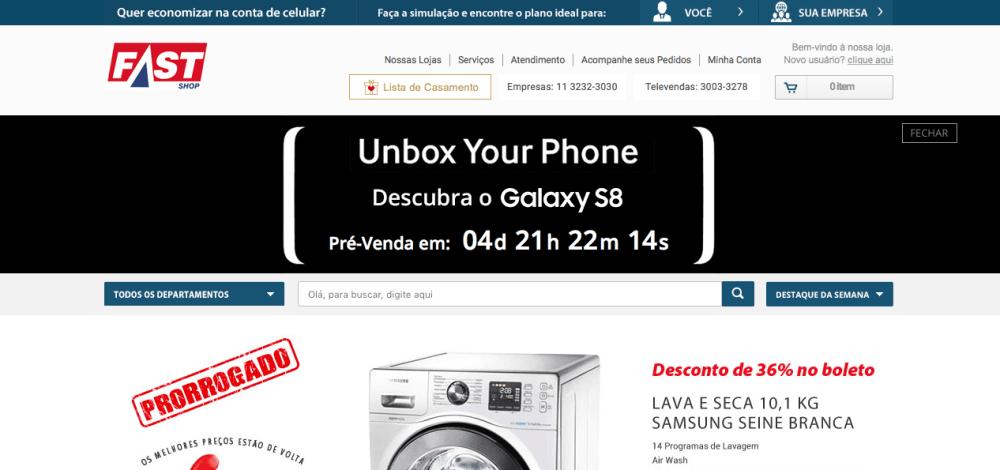 Galaxy S8 tem pré-venda anunciada no Brasil