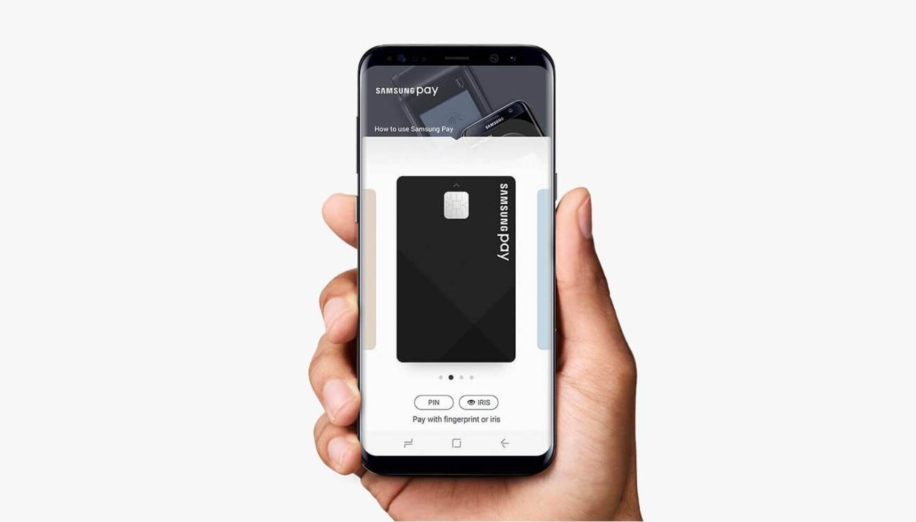 samsung pay galaxy s8