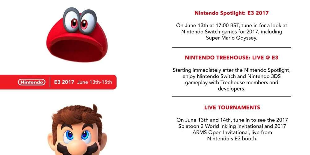 O que esperar da Nintendo na E3 2017