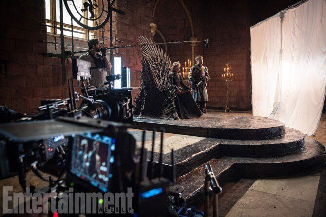 Bastidores Game of Thrones - Dragões e bastidores da próxima temporada de Game of Thrones