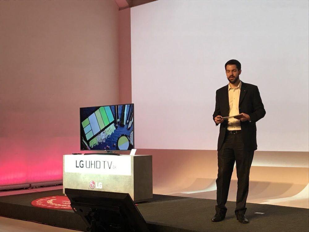 IMG 2191 - LG lança nova linha de TVs Ultra e Super Ultra HD no Brasil