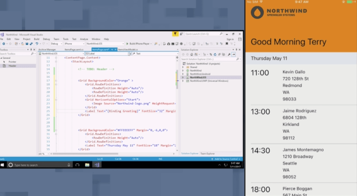 Microsoft - Xamarin Live Player