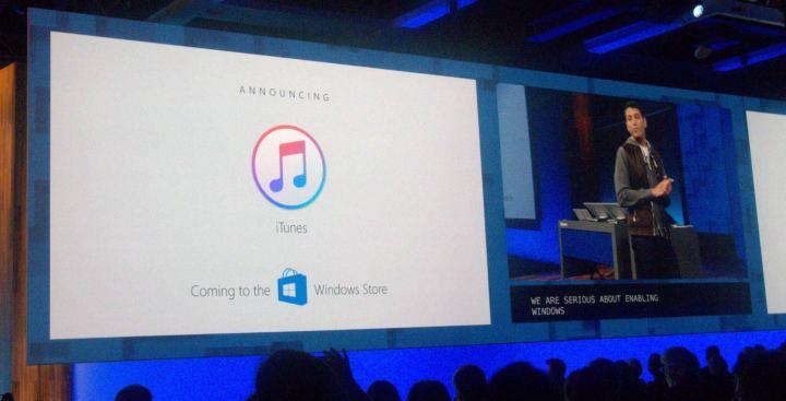 Microsoft iTunes Windows Store 720x367 - Build 2017: conheça tudo o que já foi anunciado pela Microsoft