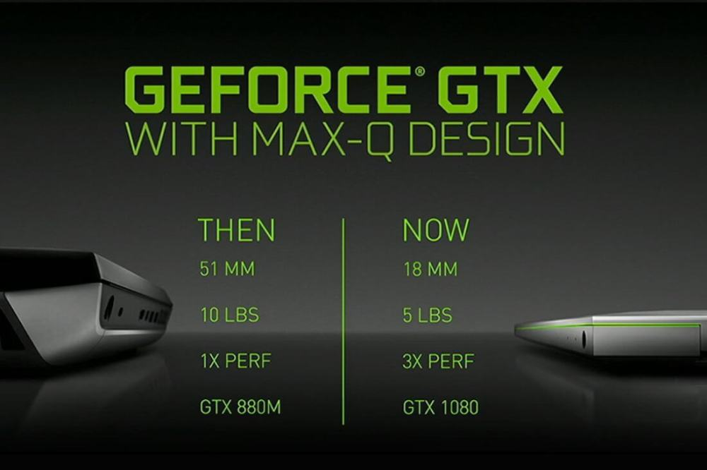 Nvidia GeForce GTX with Max Q Design Header Featured - Computex: Nvidia Max-Q permite notebooks gamers ultrafinos
