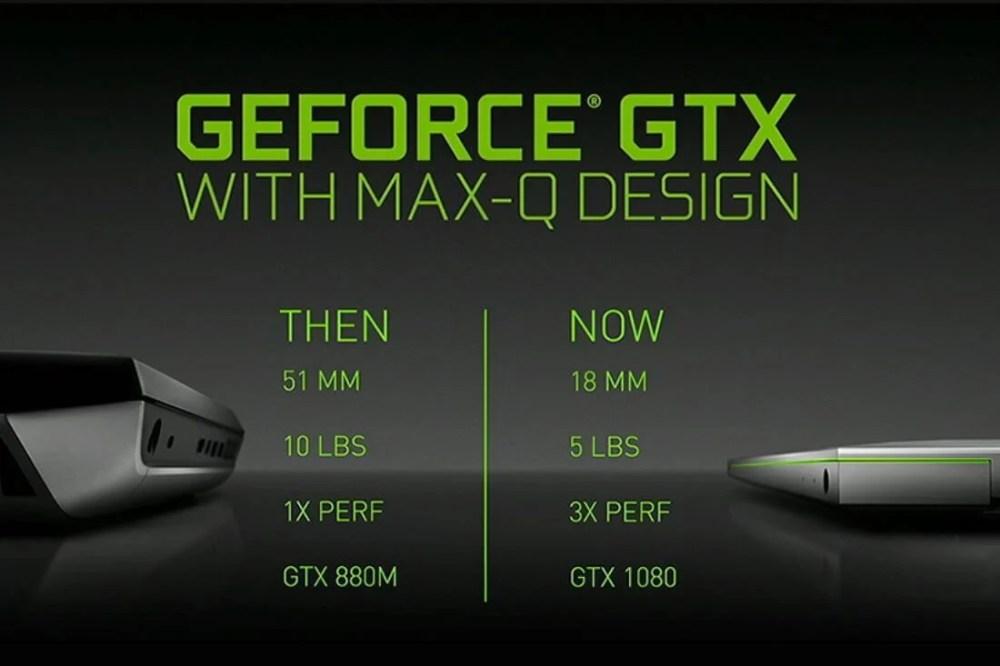 Nvidia GeForce GTX with Max Q Design Header Featured - Computex: Nvidia Max-Q permite notebooks gamers ultrafinos