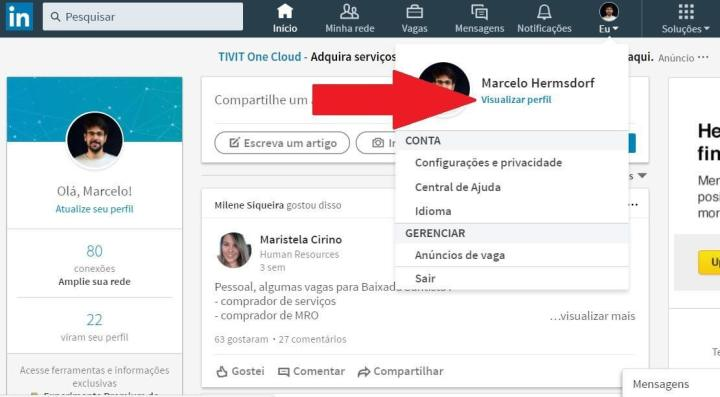Passo2 720x397 - Tutorial: Como colocar filtro na foto de perfil do LinkedIn