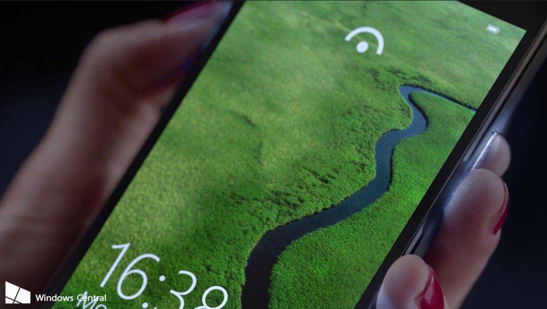 lumia 950 edge gesture - Lumia 950 era mais interessante no plano original da Microsoft
